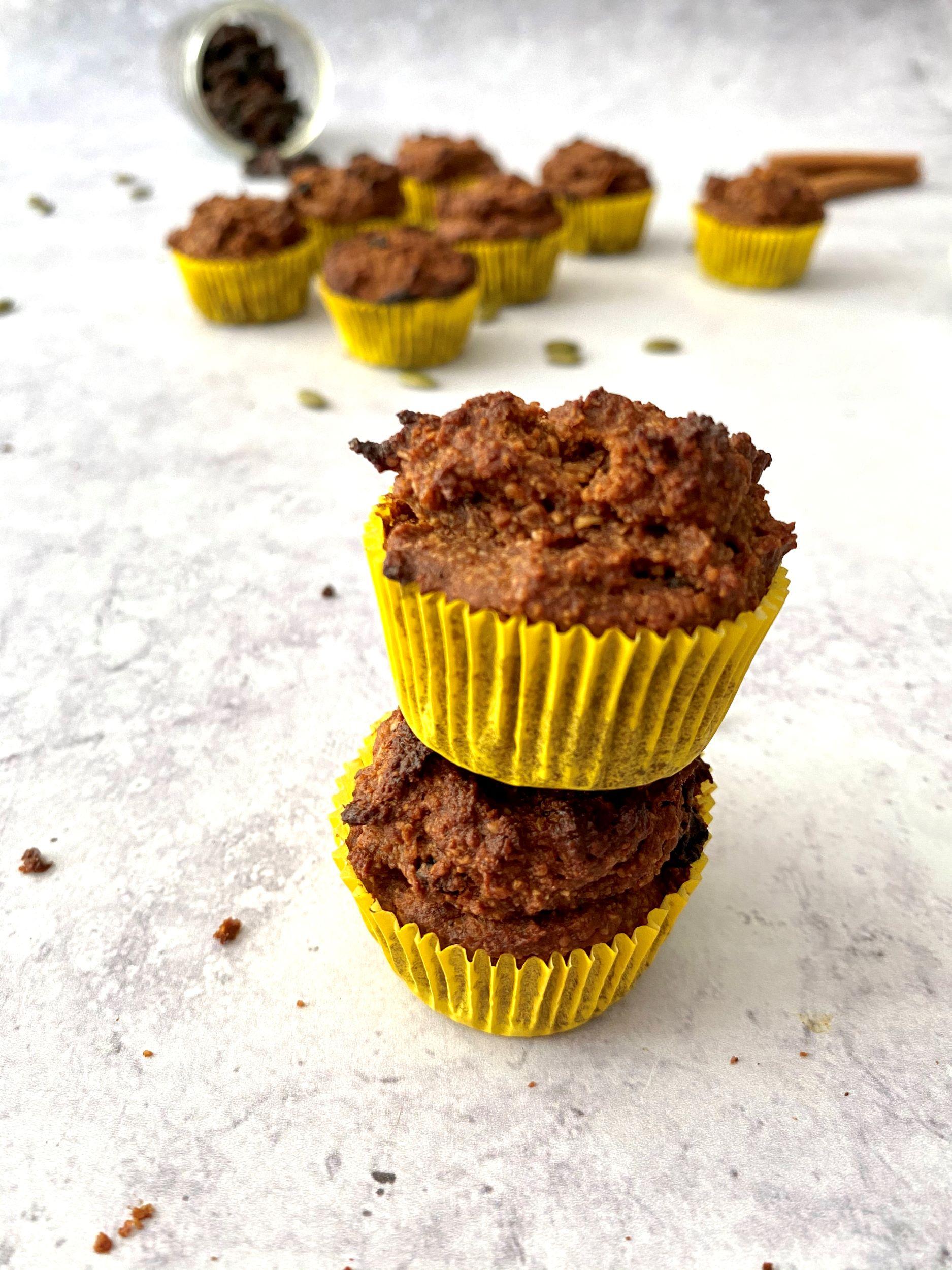 Plant-Based Mini Pumpkin Muffins