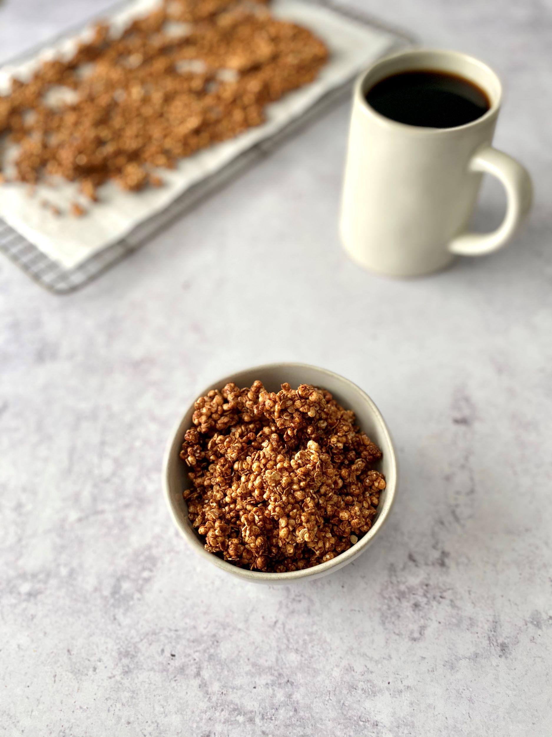 Sugar-Free Chai Spice Granola