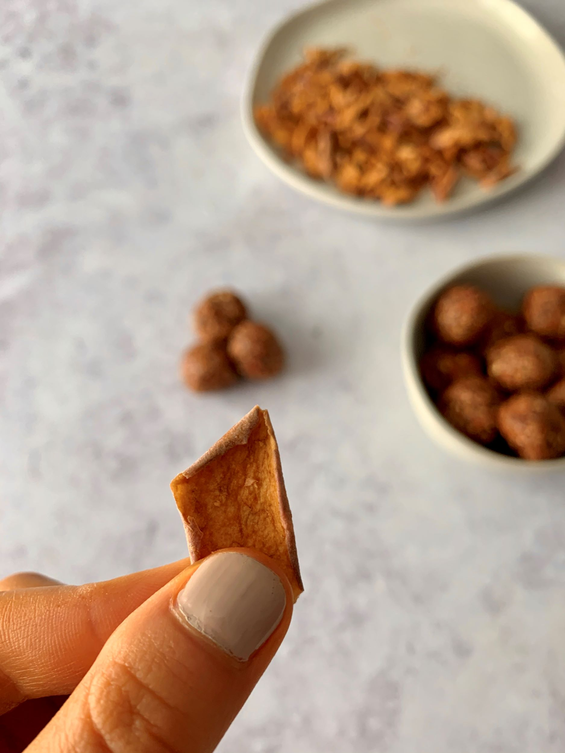 Caramel Apple Energy Bites