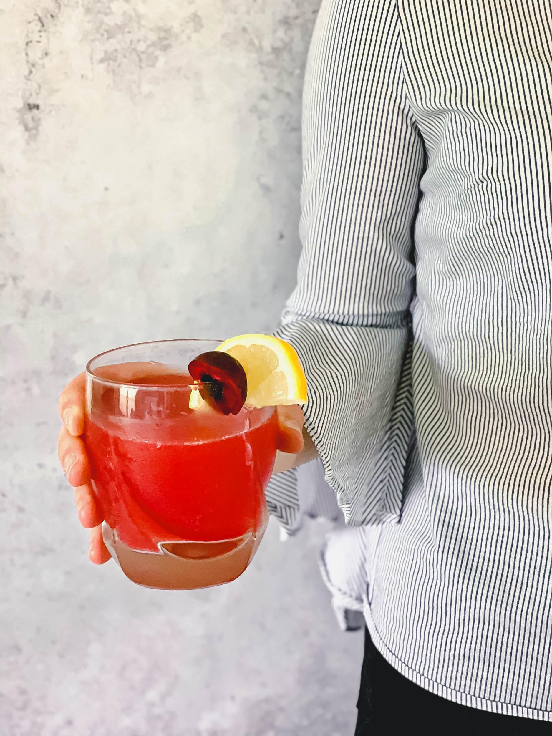 Sugar-Free Cherry Lemonade
