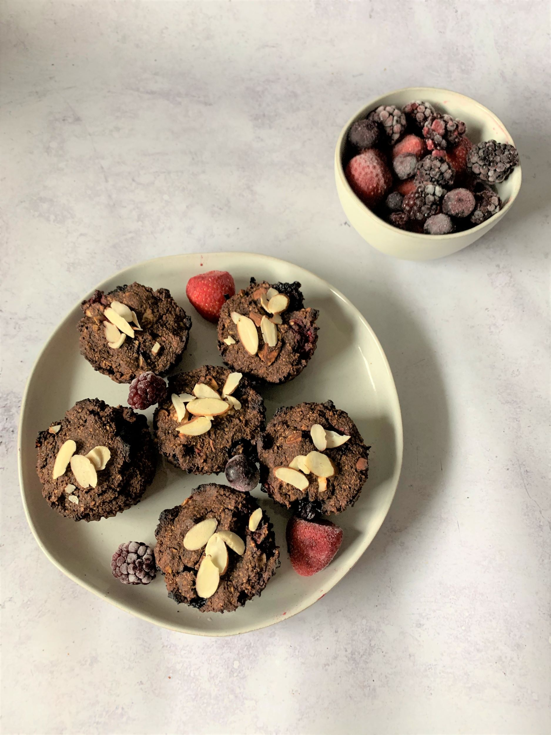 Plant-Based Berry Muffins