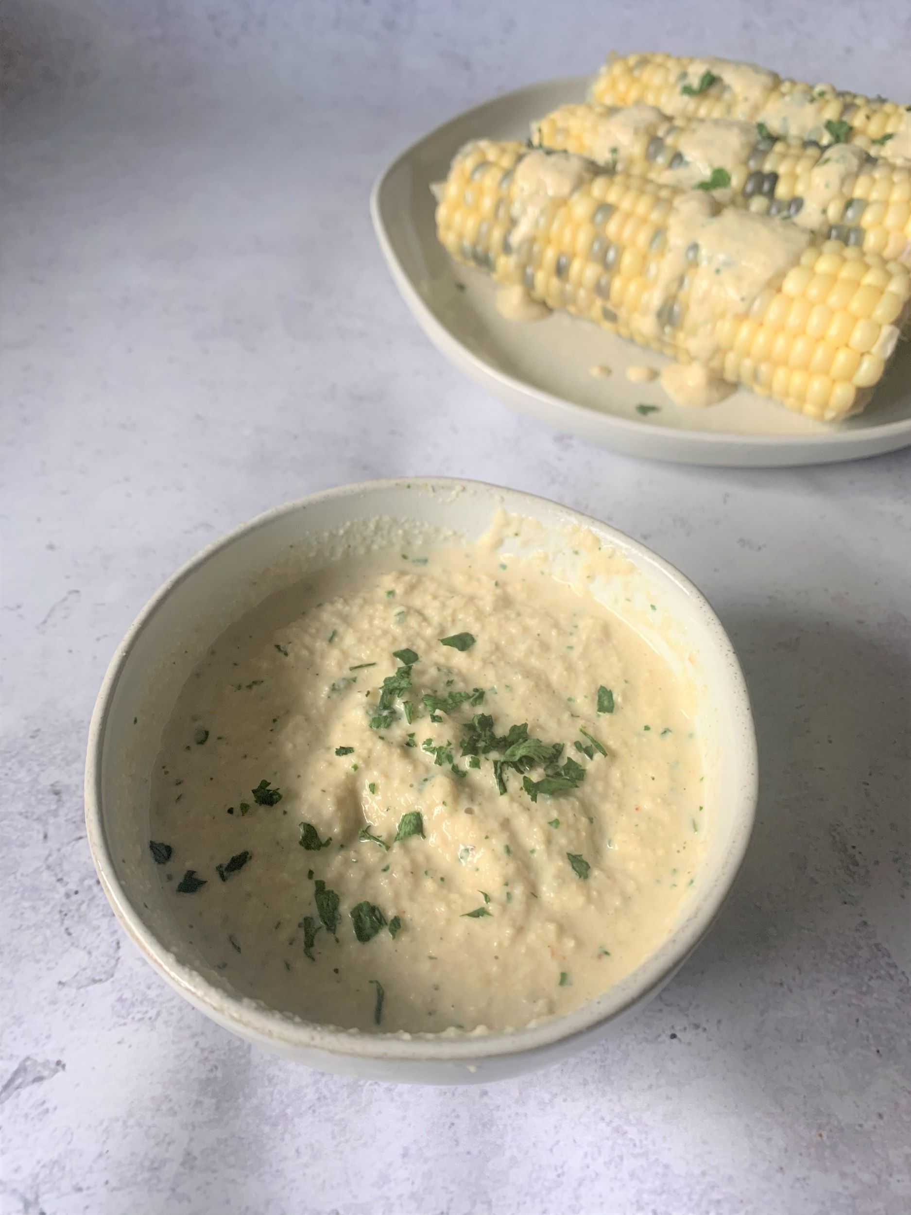 Vegan Garlic Parsley Aioli