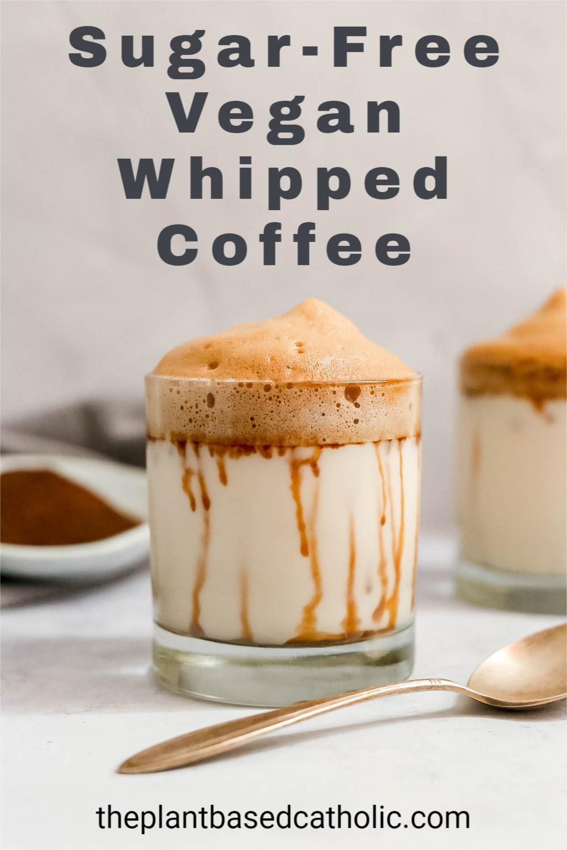 Sugar-Free Vegan Whipped Coffee