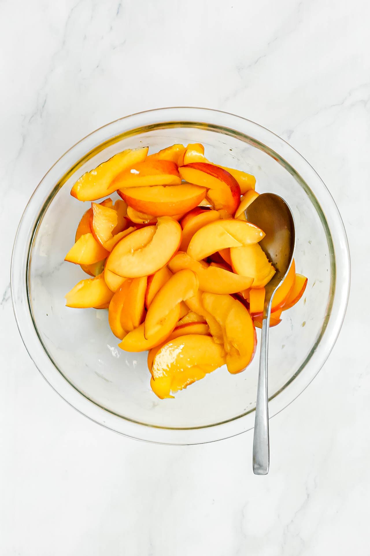 Raw Peaches