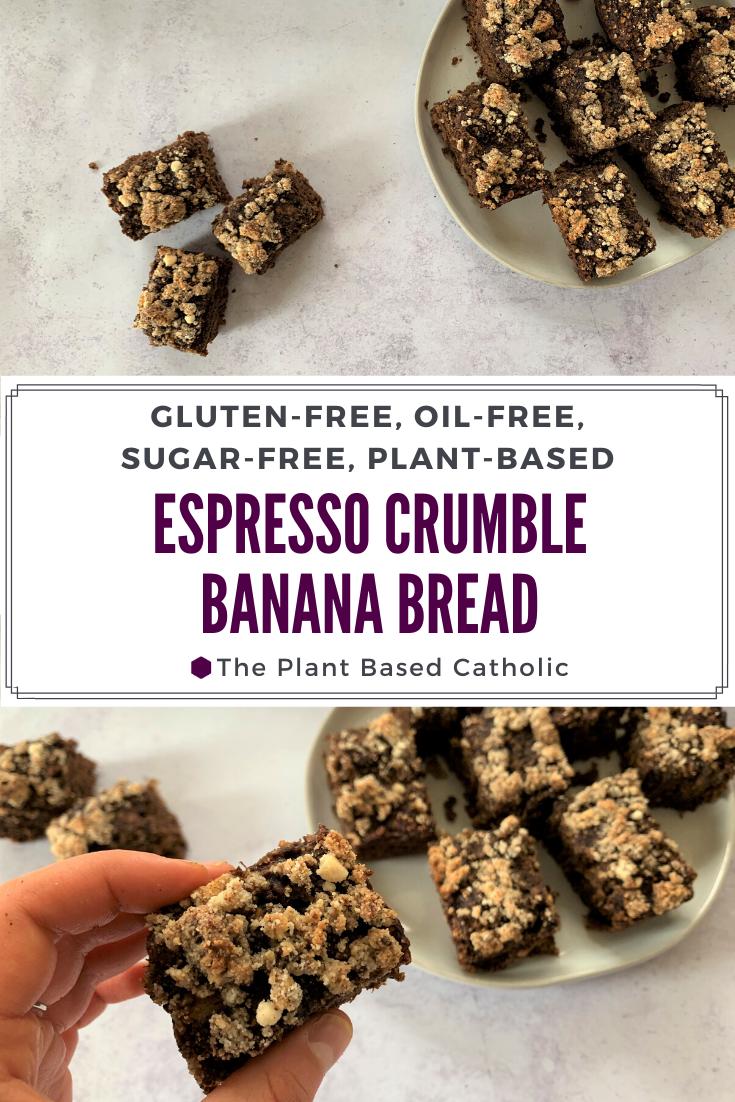 Espresso Crumble Banana Bread