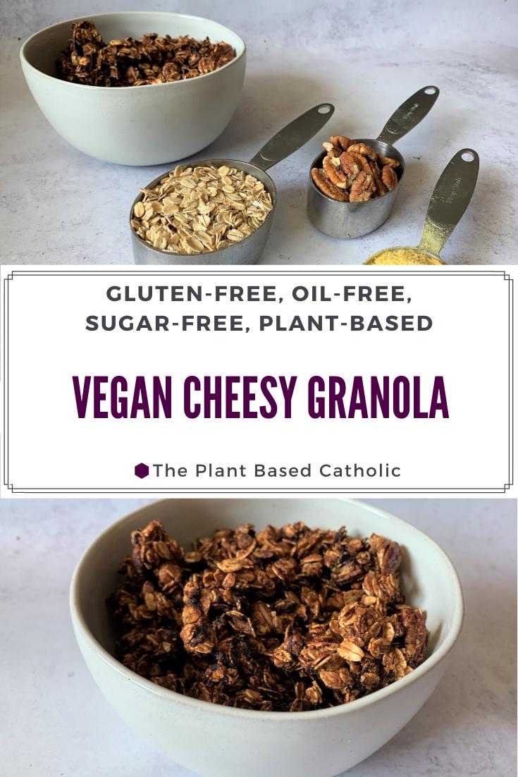 Vegan Cheesy Granola