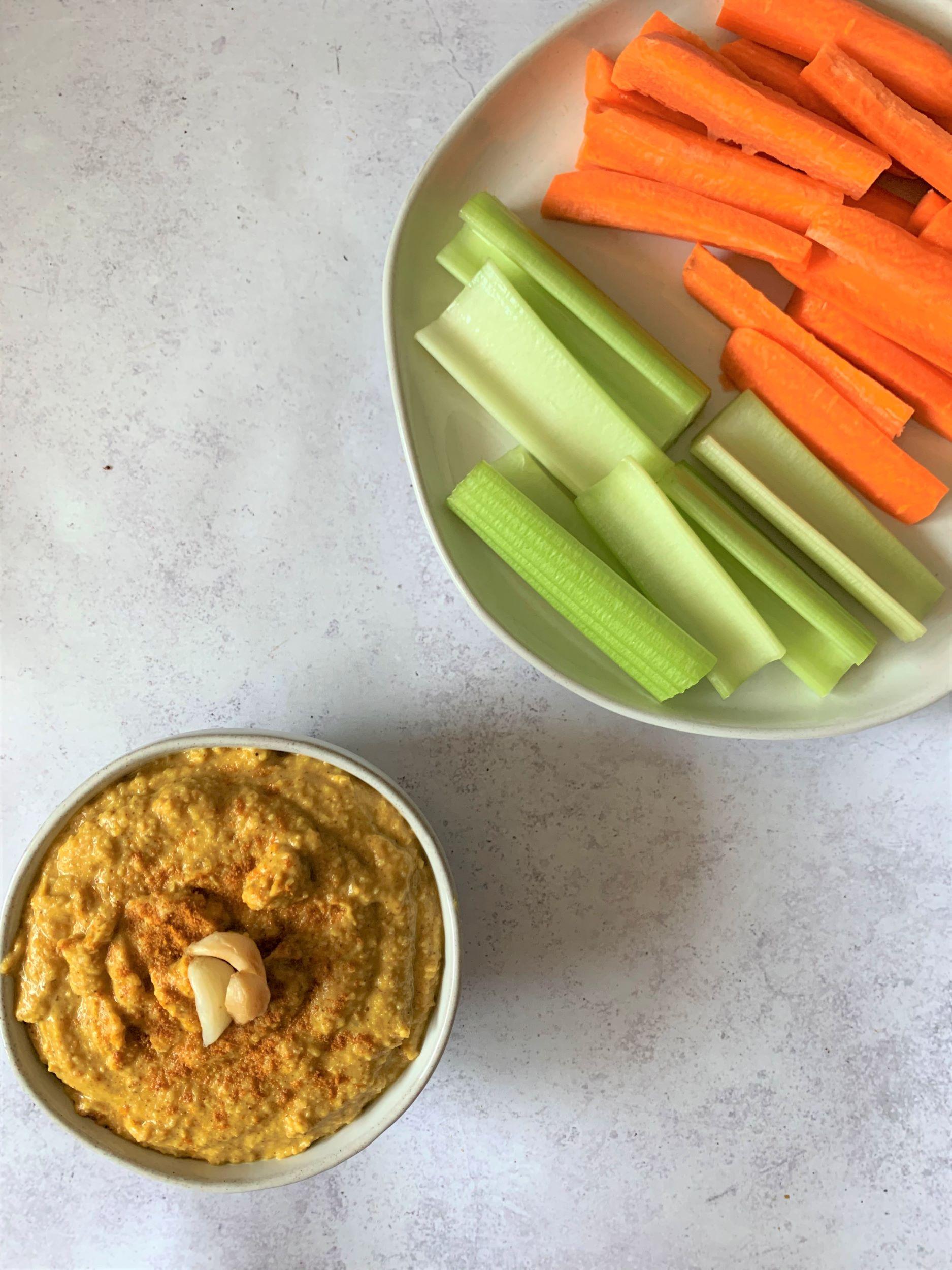 Curry Spice Hummus