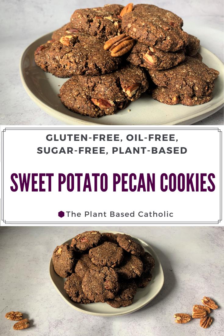 Sweet Potato Pecan Cookies