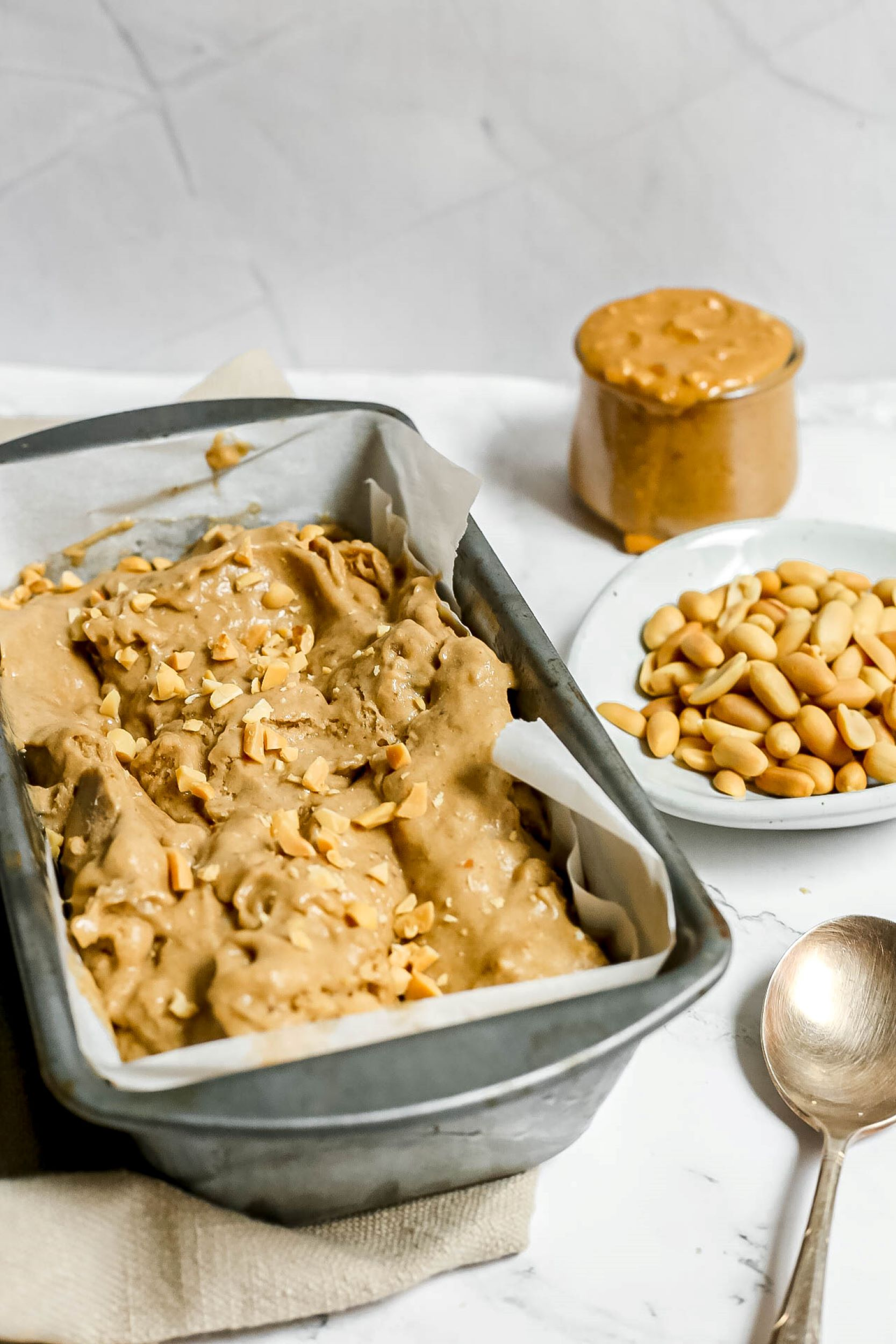 Peanut Butter Protein Nice Cream