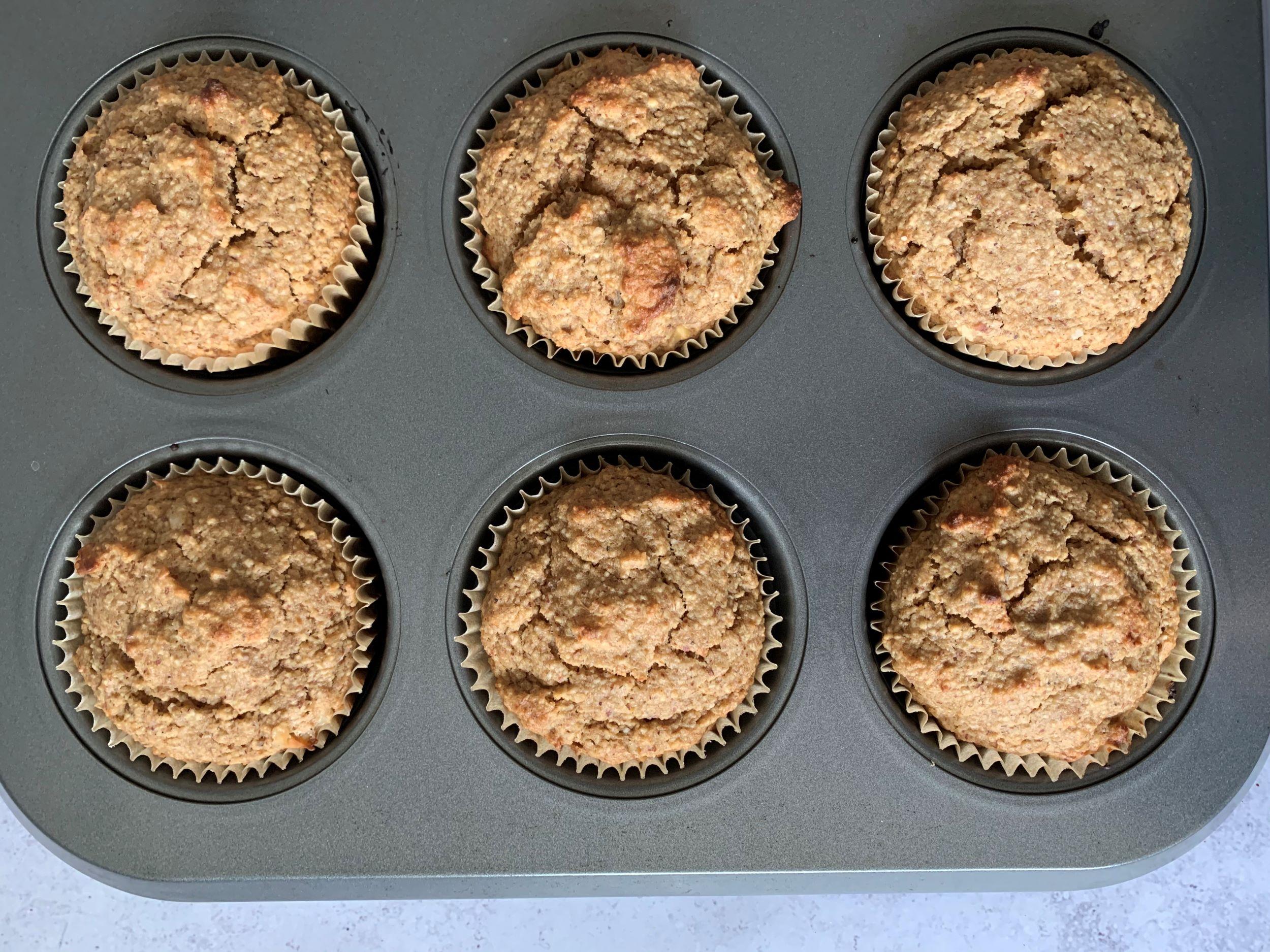 Plant-Based Maple Walnut Muffins