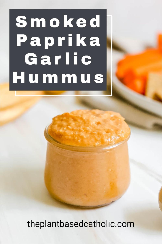 Smoked Paprika Garlic Hummus