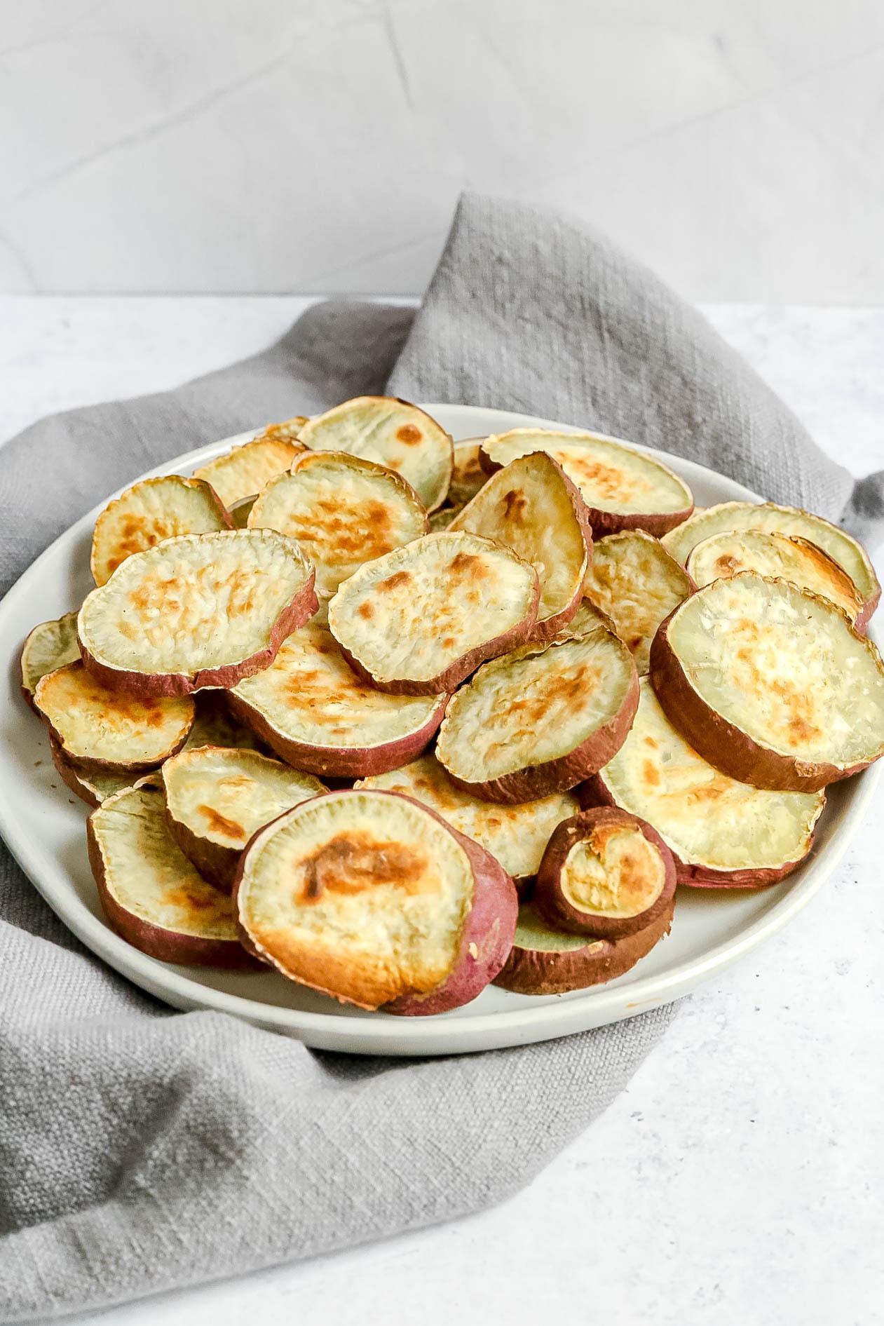 Japanese Sweet Potato Rounds