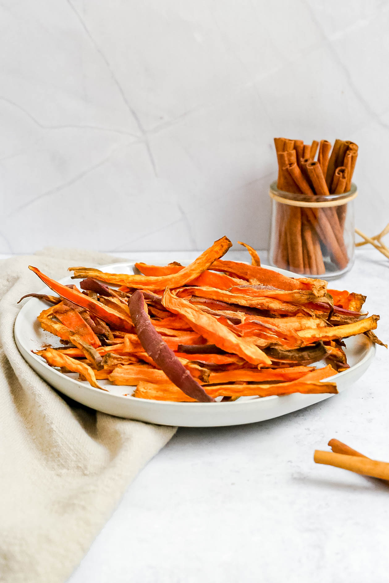 Sweet spiced sweet potato fries