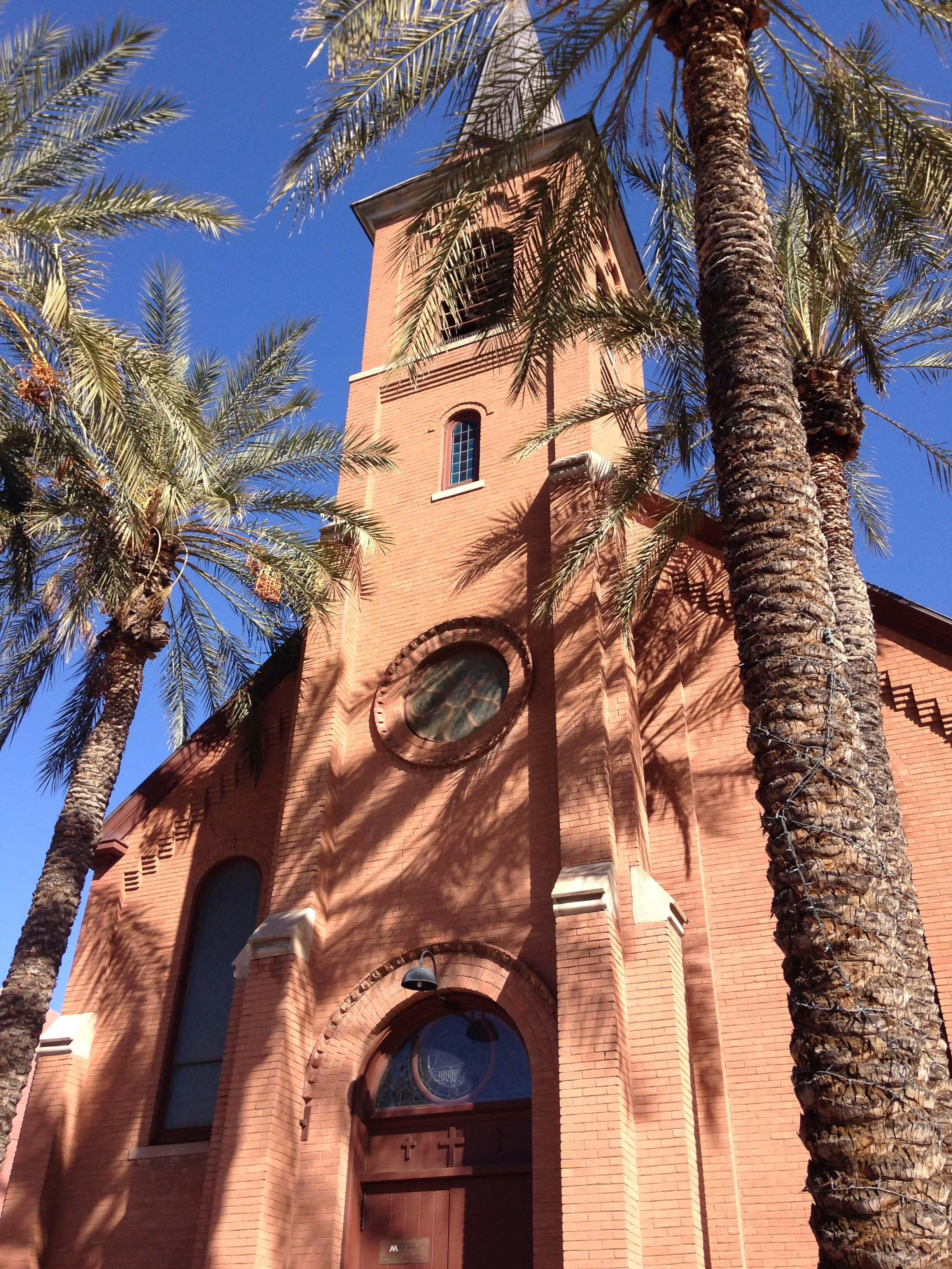 St. Mary's Catholic Church in Tempe, AZ