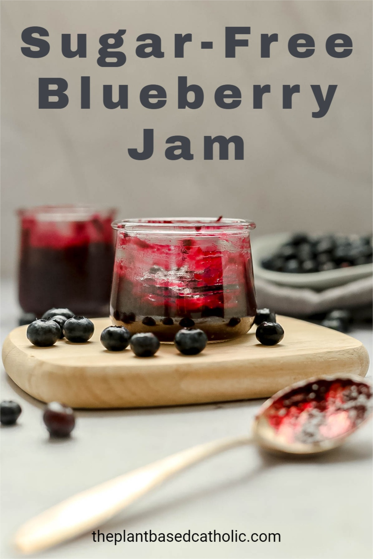 Sugar-Free Blueberry Jam