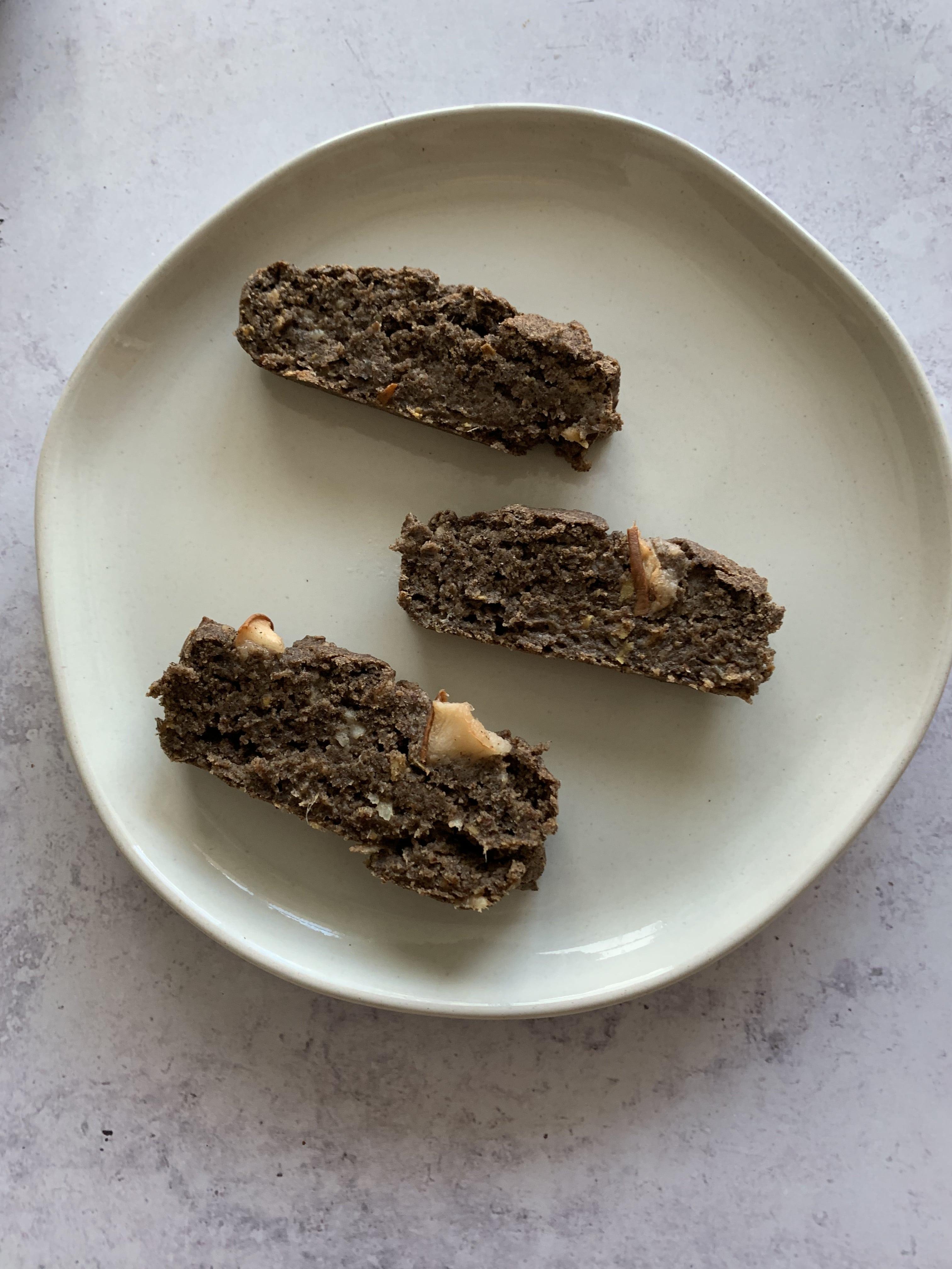Ginger Pear Buckwheat Bread