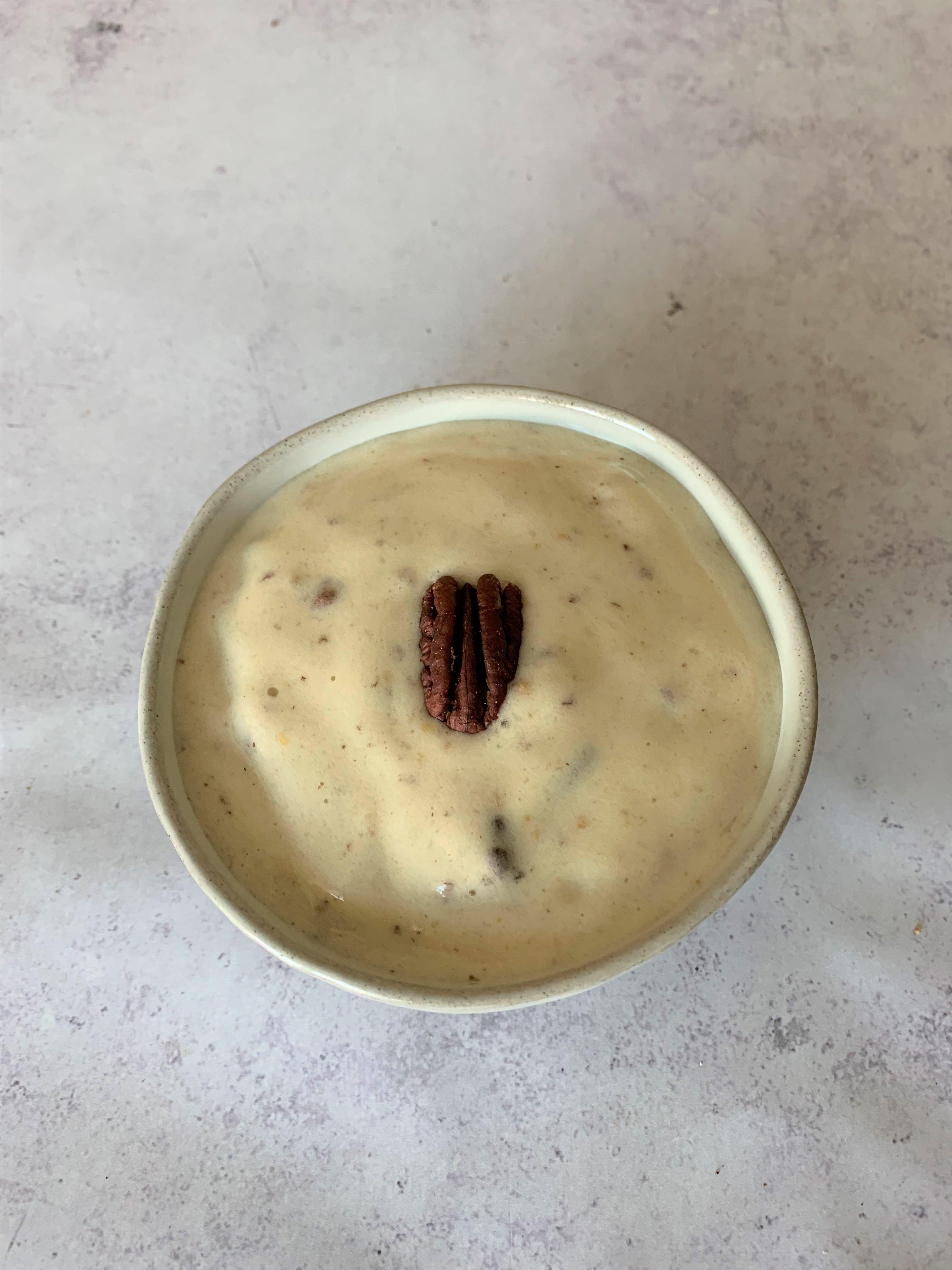 Bourbon Pecan Nice Cream