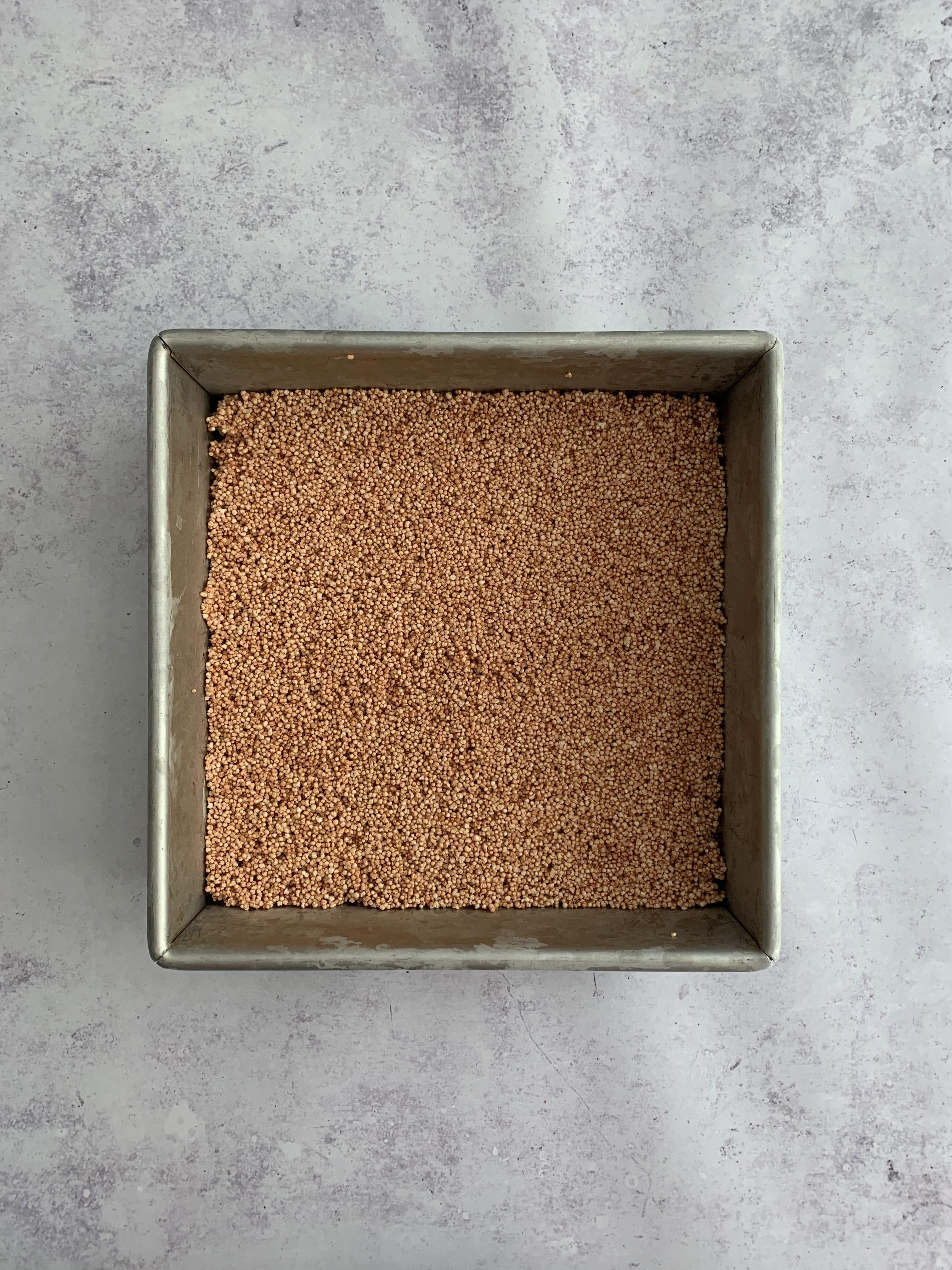 Amaranth Rice Krispies Treats