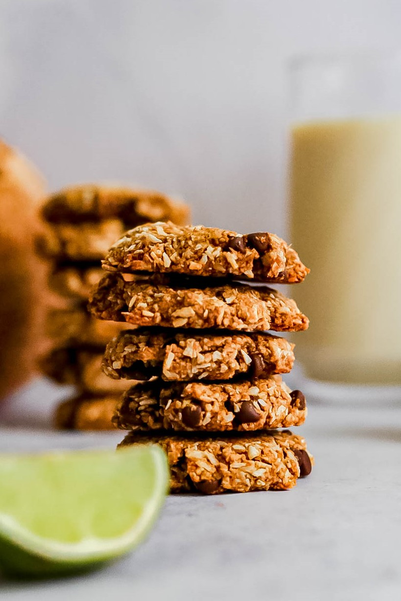 Toasted Coconut Chocolate Cookies