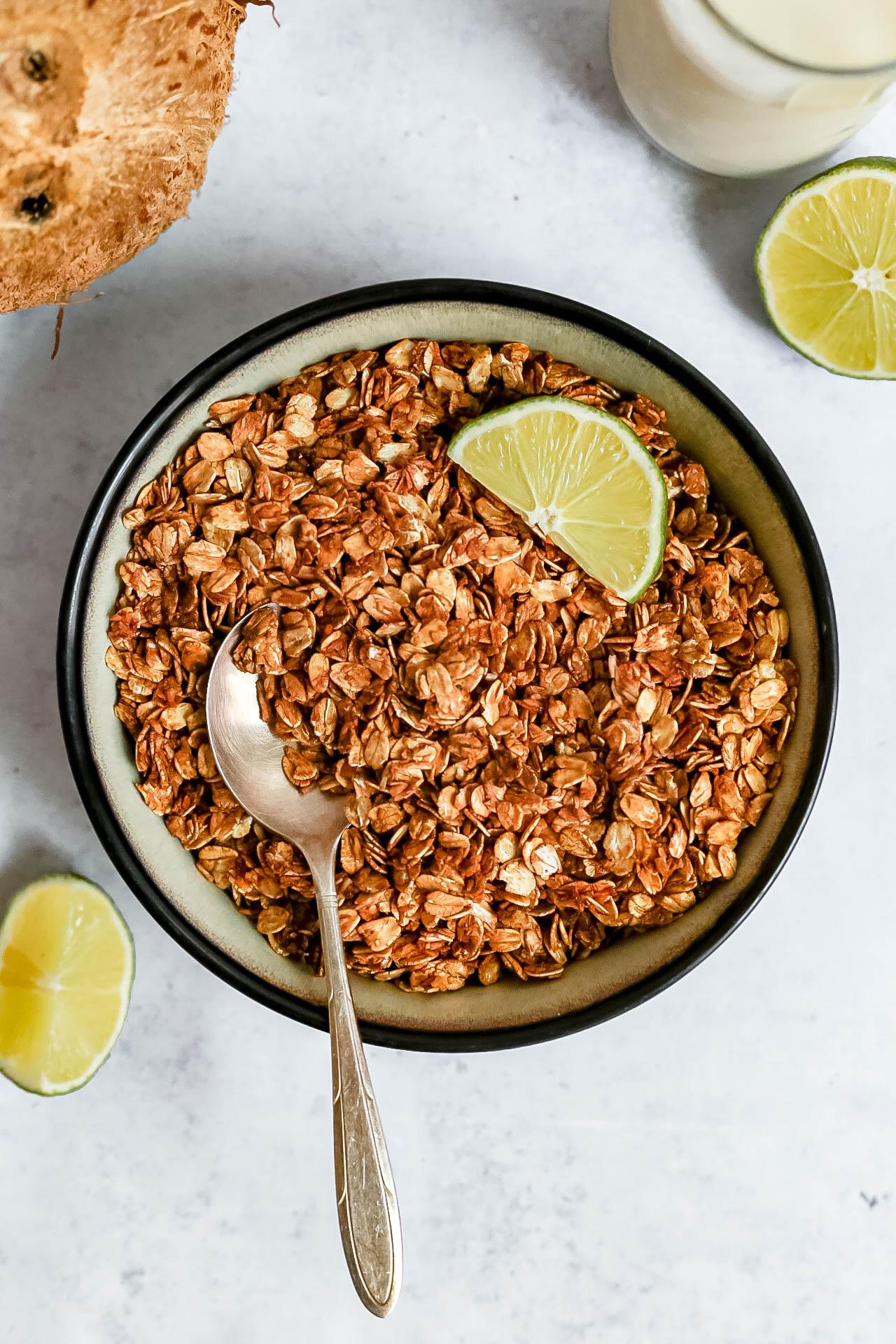 Coconut Lime Granola