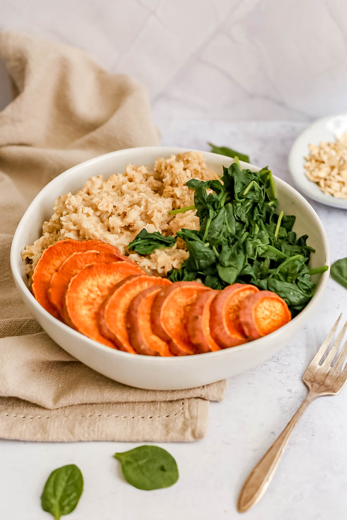 Savory Spinach Breakfast Bowl