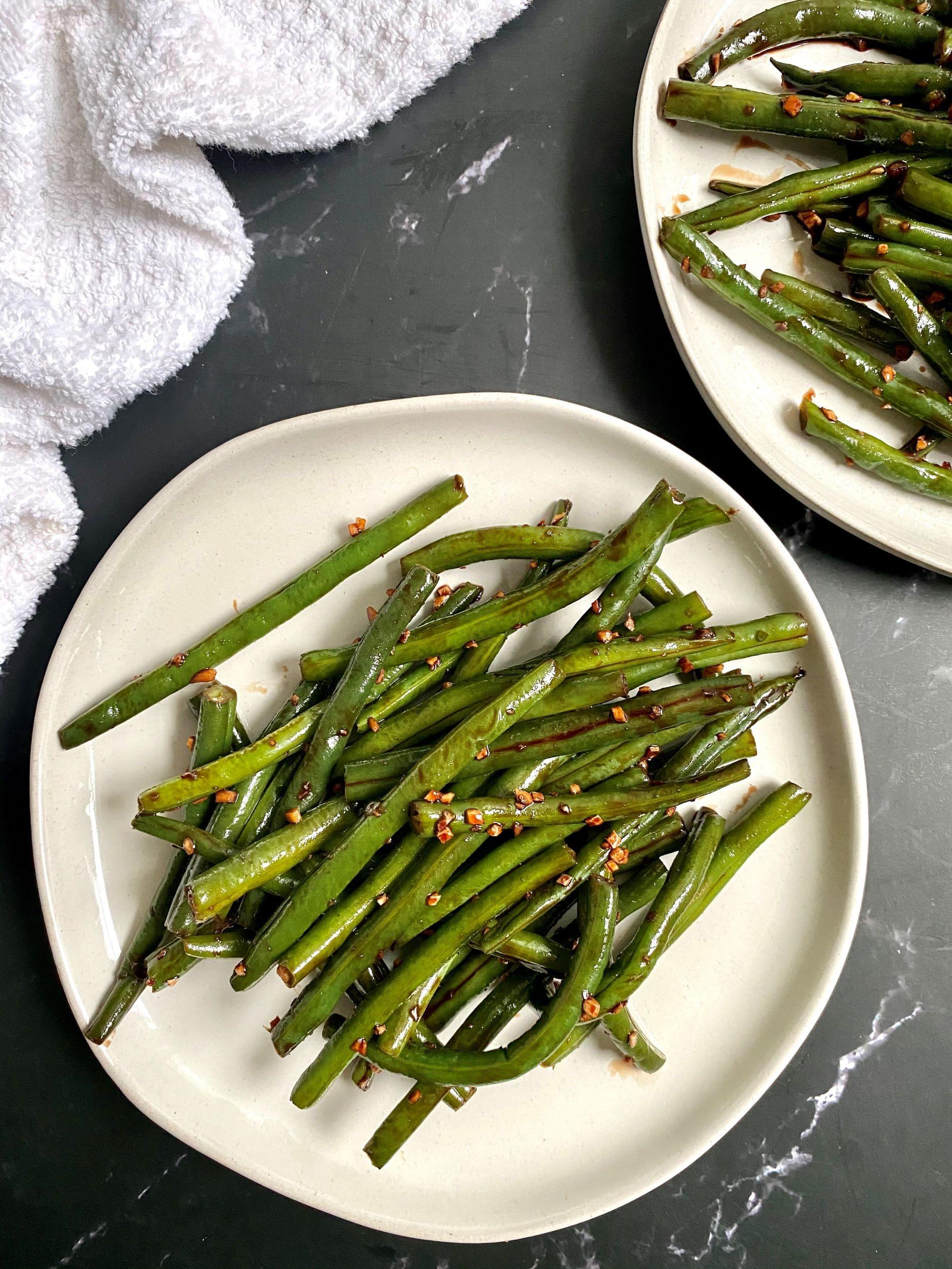 Sweet Glazed Green Beans