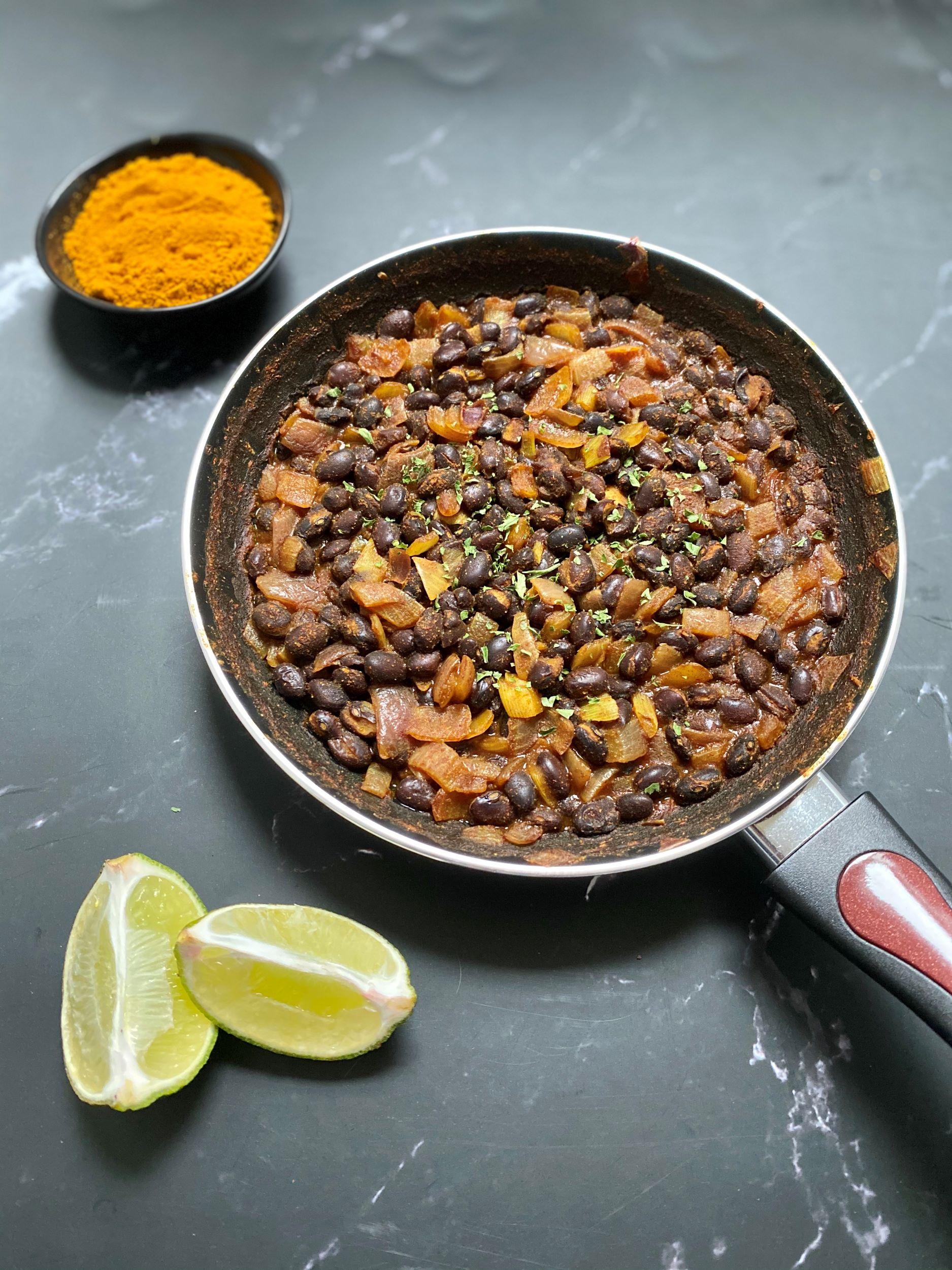 Easy Oil-Free Black Beans