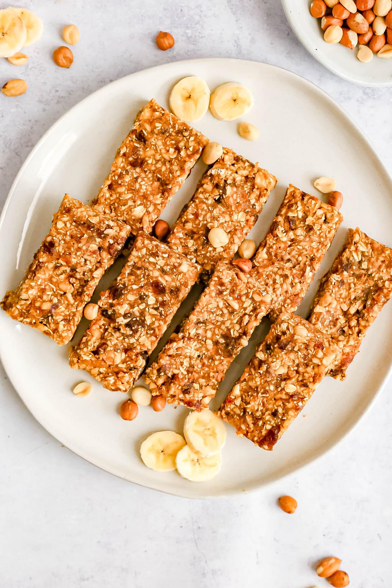 Peanut Butter Banana Breakfast Bars