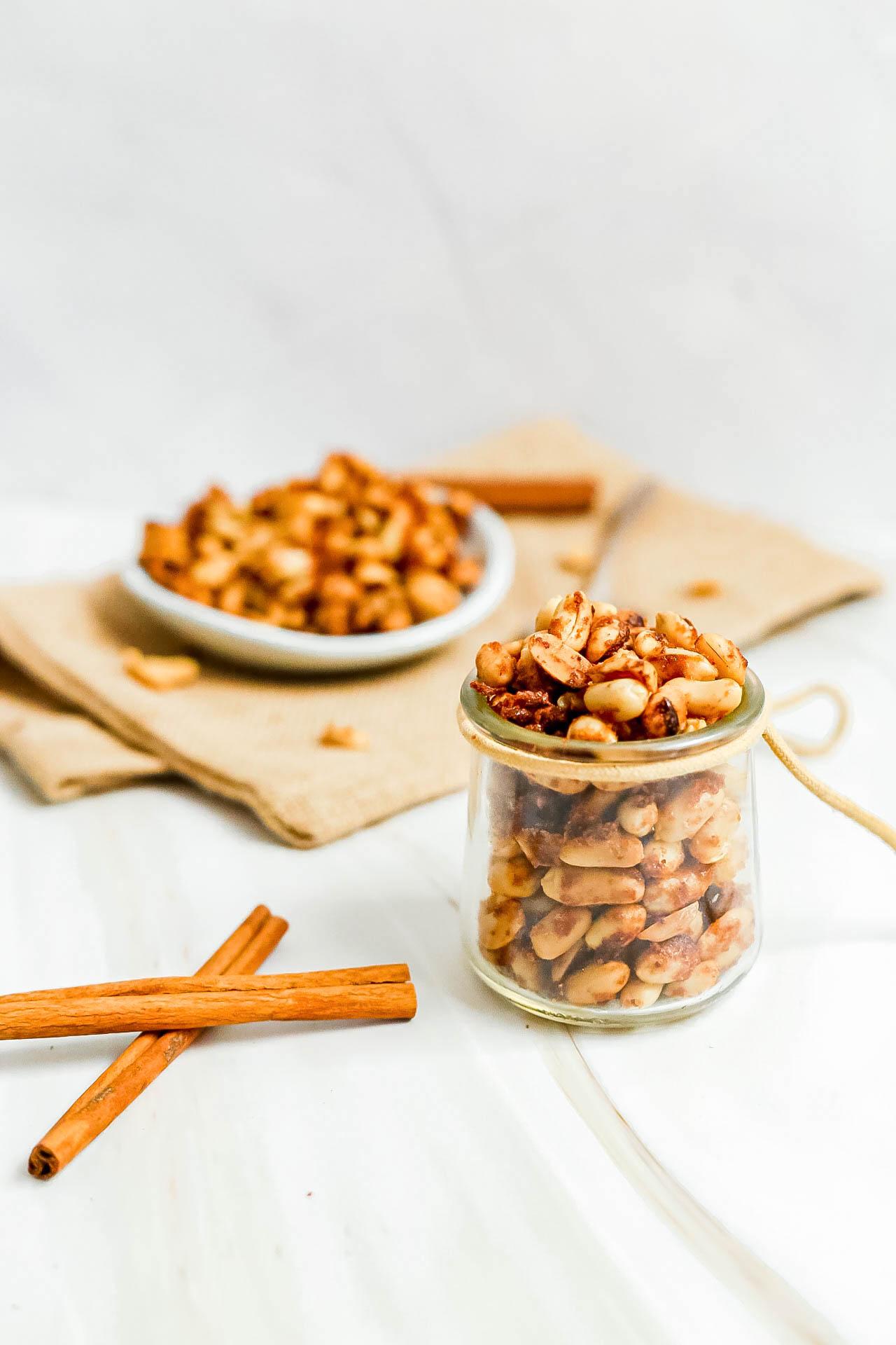 Vegan 'Honey' Roasted Peanuts