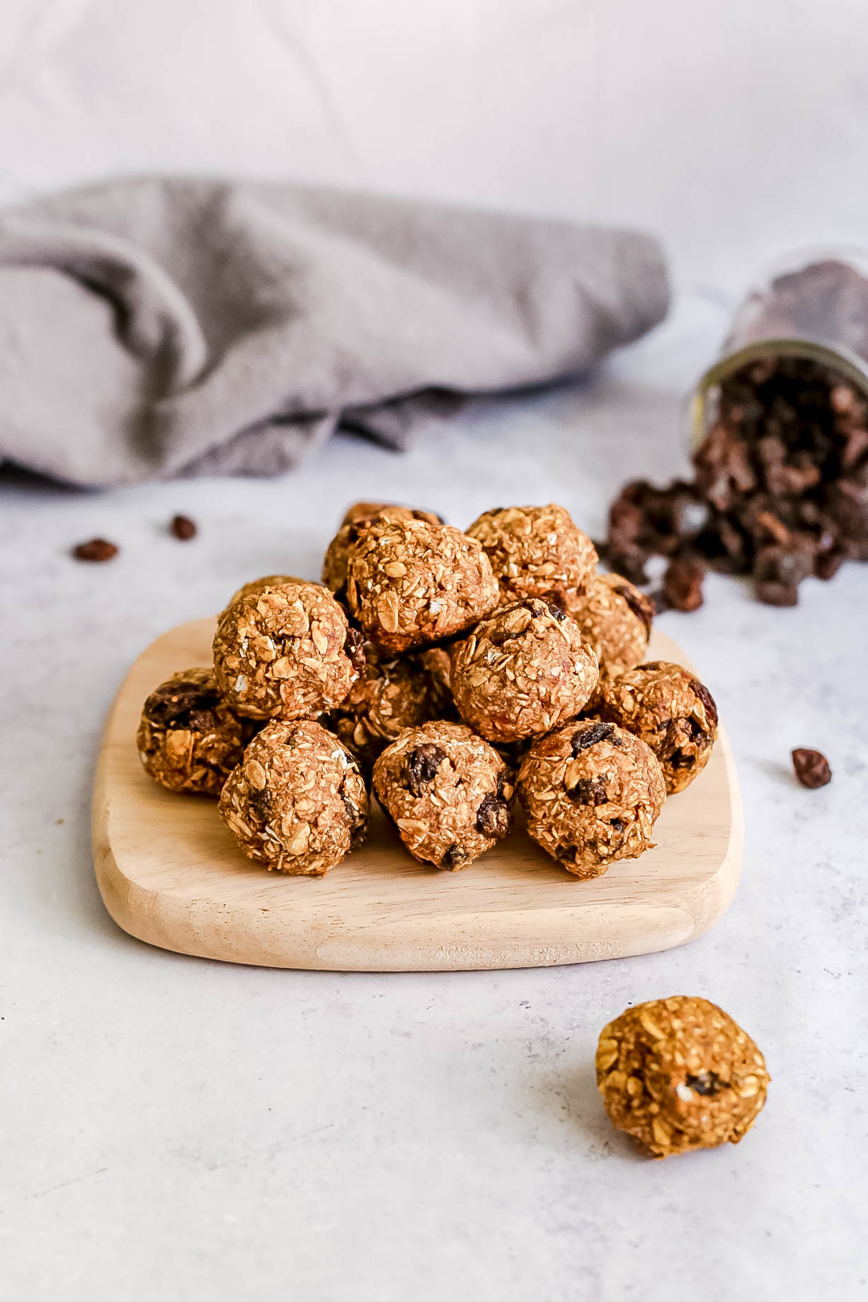 Oatmeal Raisin Cookie Bites