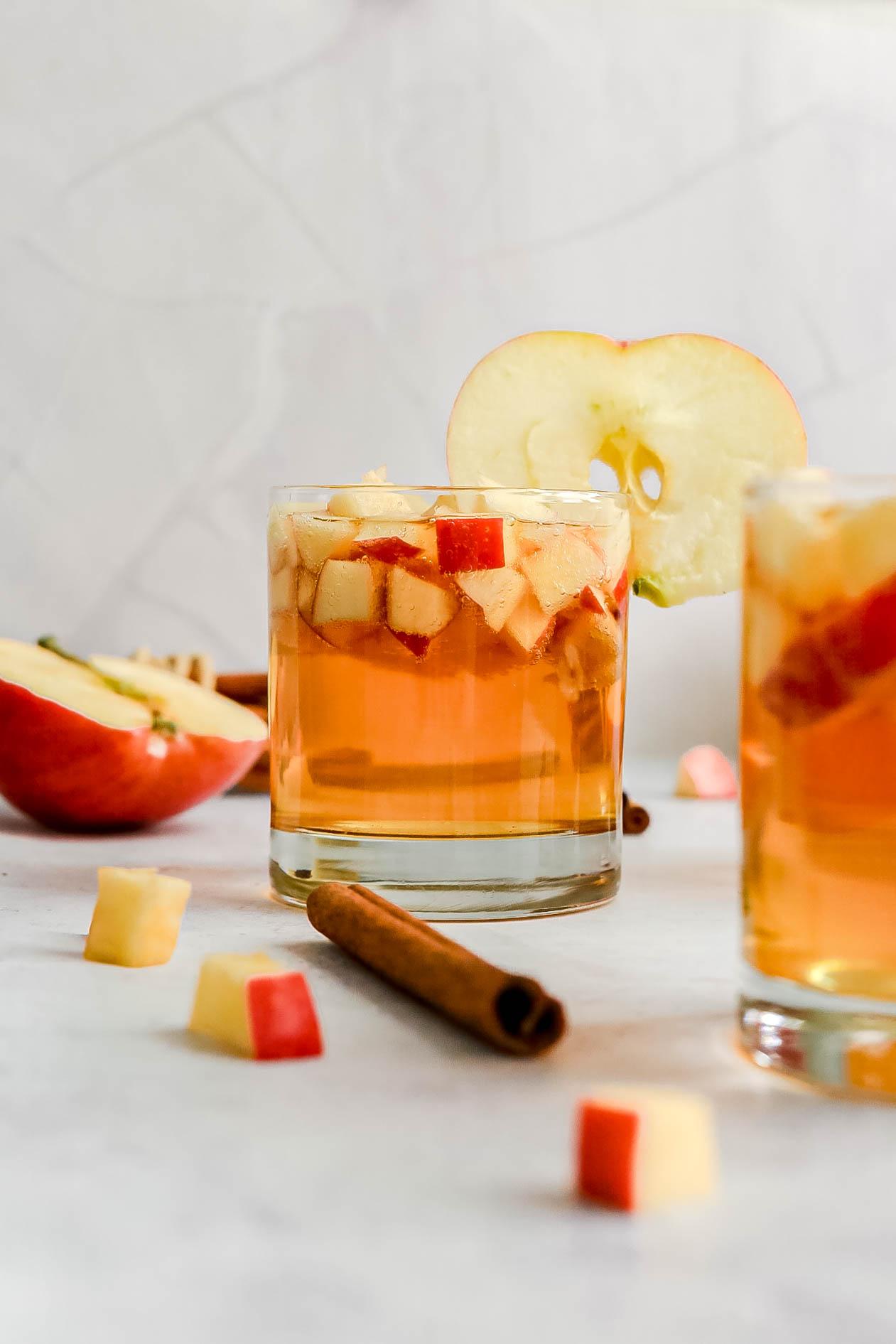 Healthy Apple Cider Spritzer