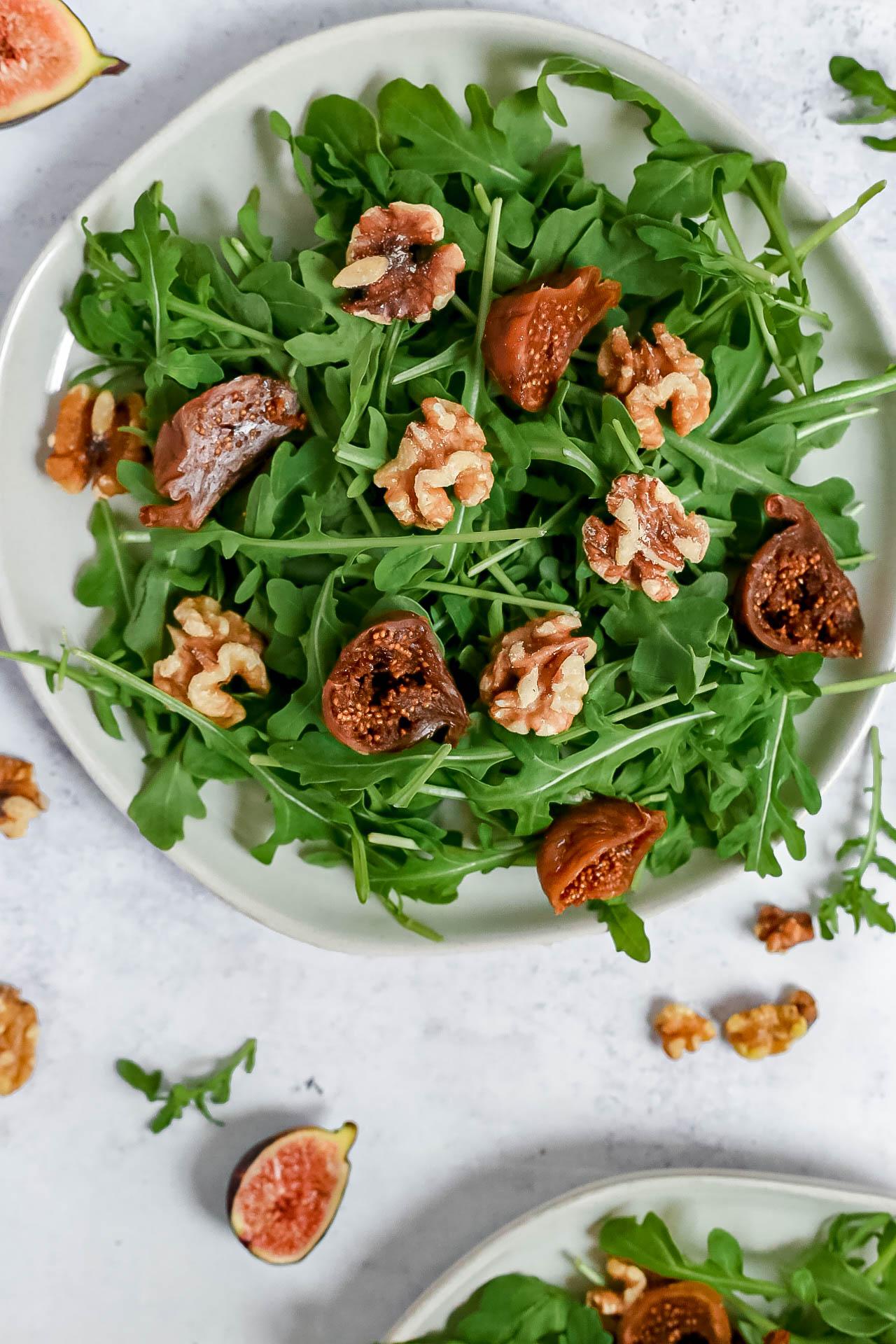 Arugula Fig Salad