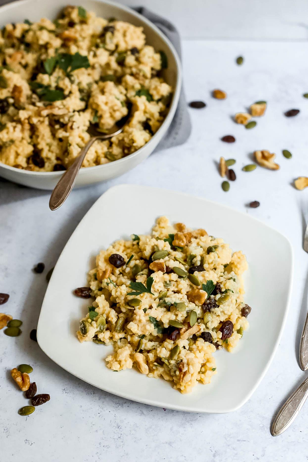 Easy Fall Millet Salad