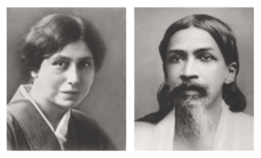 """The Mother """" Mirra Alfassa """" & Sri Aurobindo"""