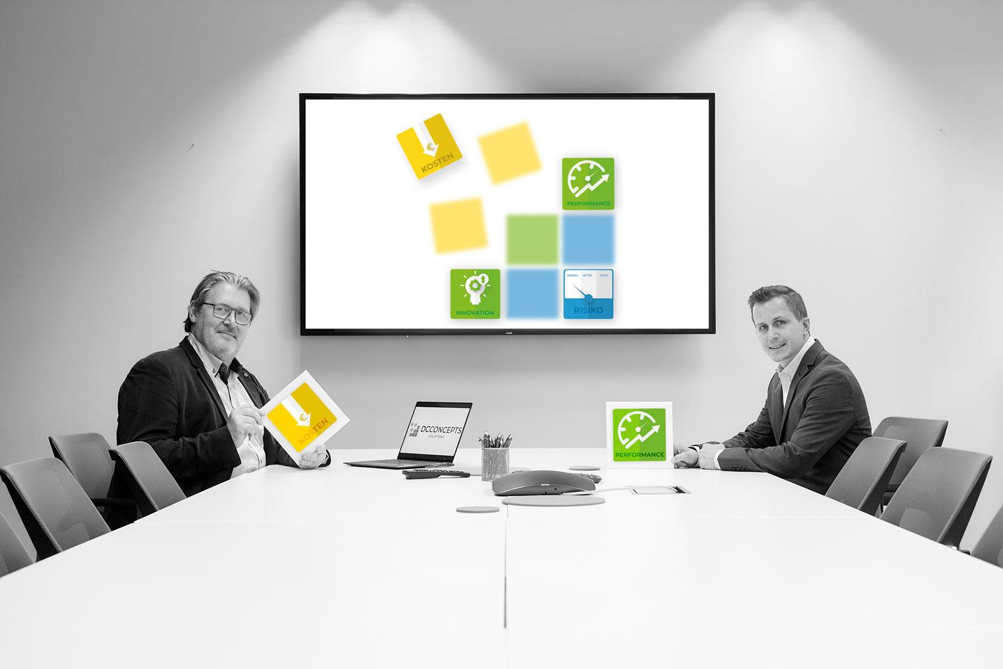 DCConcepts Solutions beim Meeting im Manhatten room