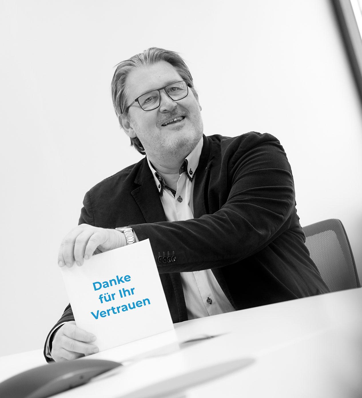 DCConcepts Solutions GmbH in 1220 Wien Referenzen-Peter Bayer, Danke für Ihr Vertrauen