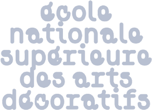 Logo École Nationale Supérieure des Arts Décoratifs