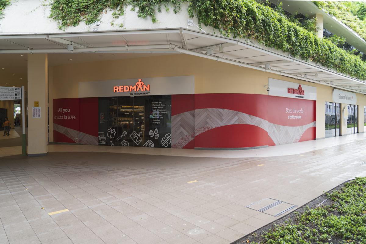 Store front, RedMan by Phoon Huat, Heartbeat@Bedok