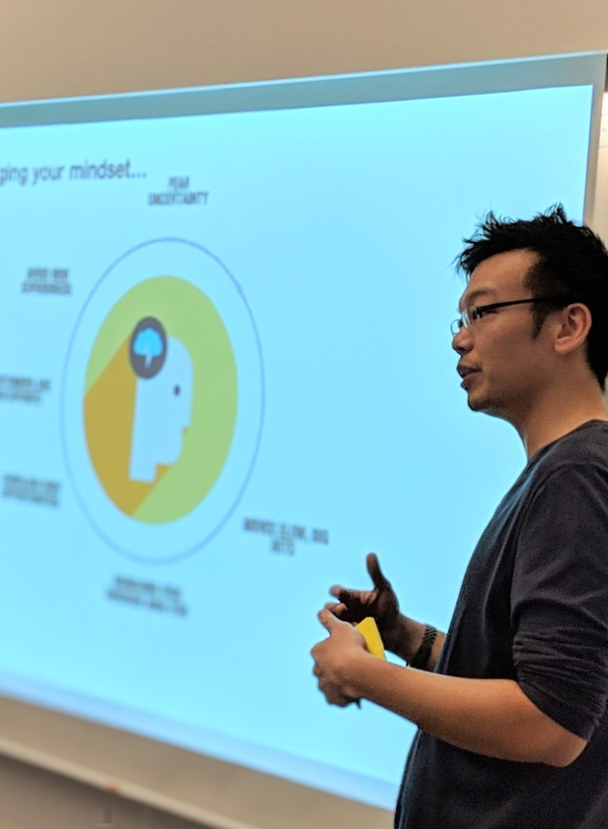 Chemistry, Service Design Agency in Singapore, CEO, John Chan providing strategic consulting and training in design thinking