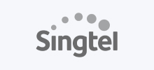 Logo of a Client (Singtel)
