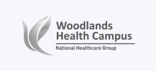 Logo of a Client (Woodlands Health Campus - National Healthcare Group)