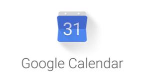 Google calendar small