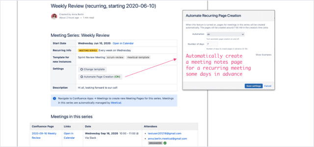 Autopilot for recurring meetings img
