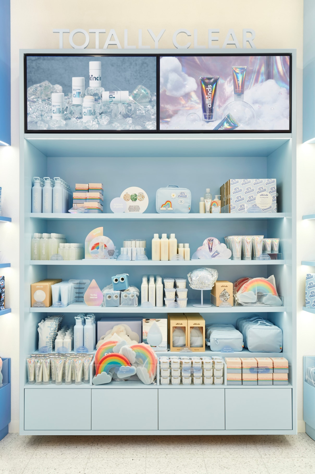 Allkinds Totally Clear world display shelves