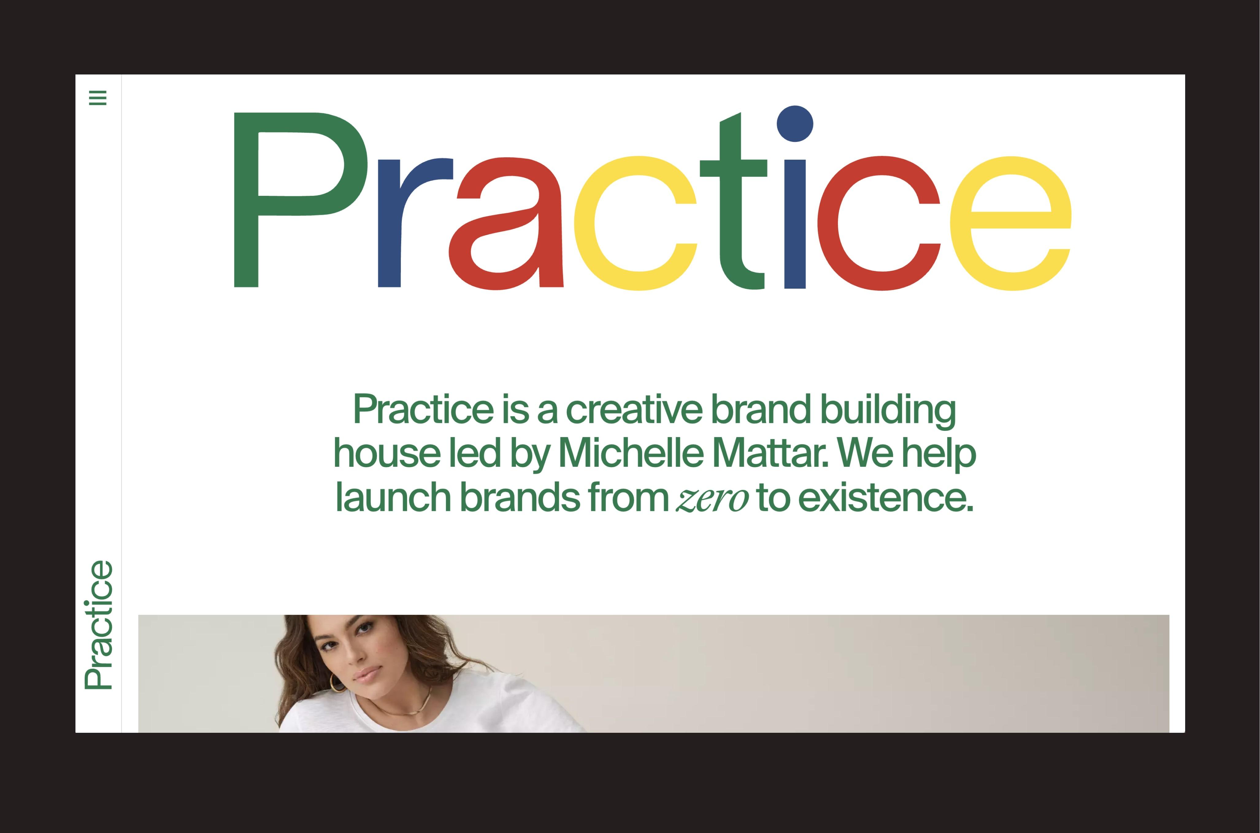 Practice Website Homepage Hero