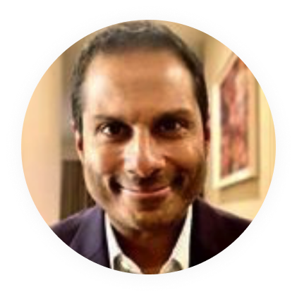 A circular profile image of Suneil Koliwad, MD, PhD, a Signos Scientific Advisory Board member.
