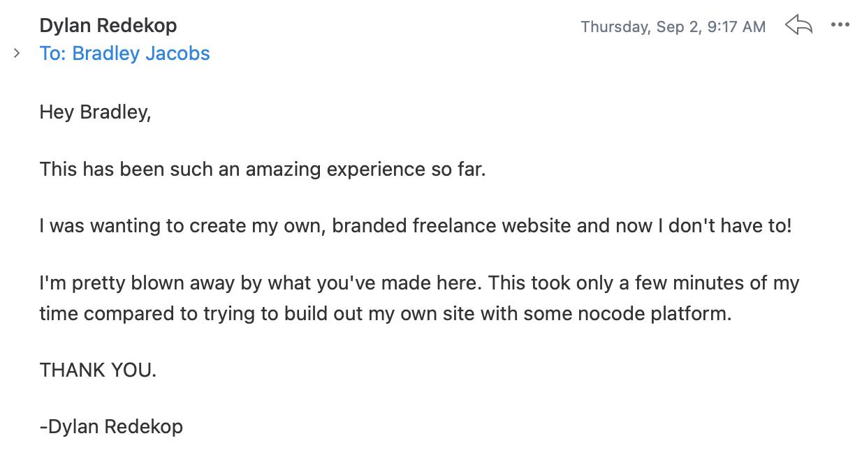 email-testimonials