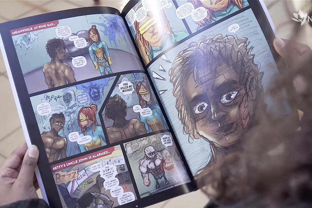 Launching Three Graphic Novels