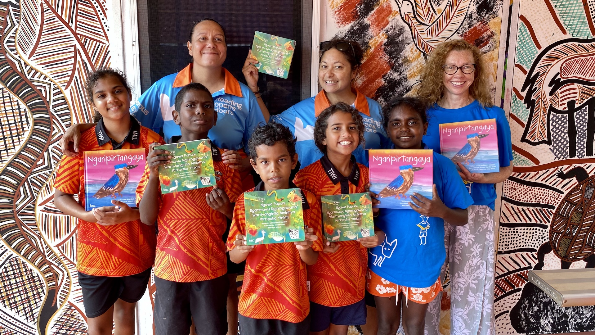 Tiwi Islands Book Launch Part 2:  Into the Classroom