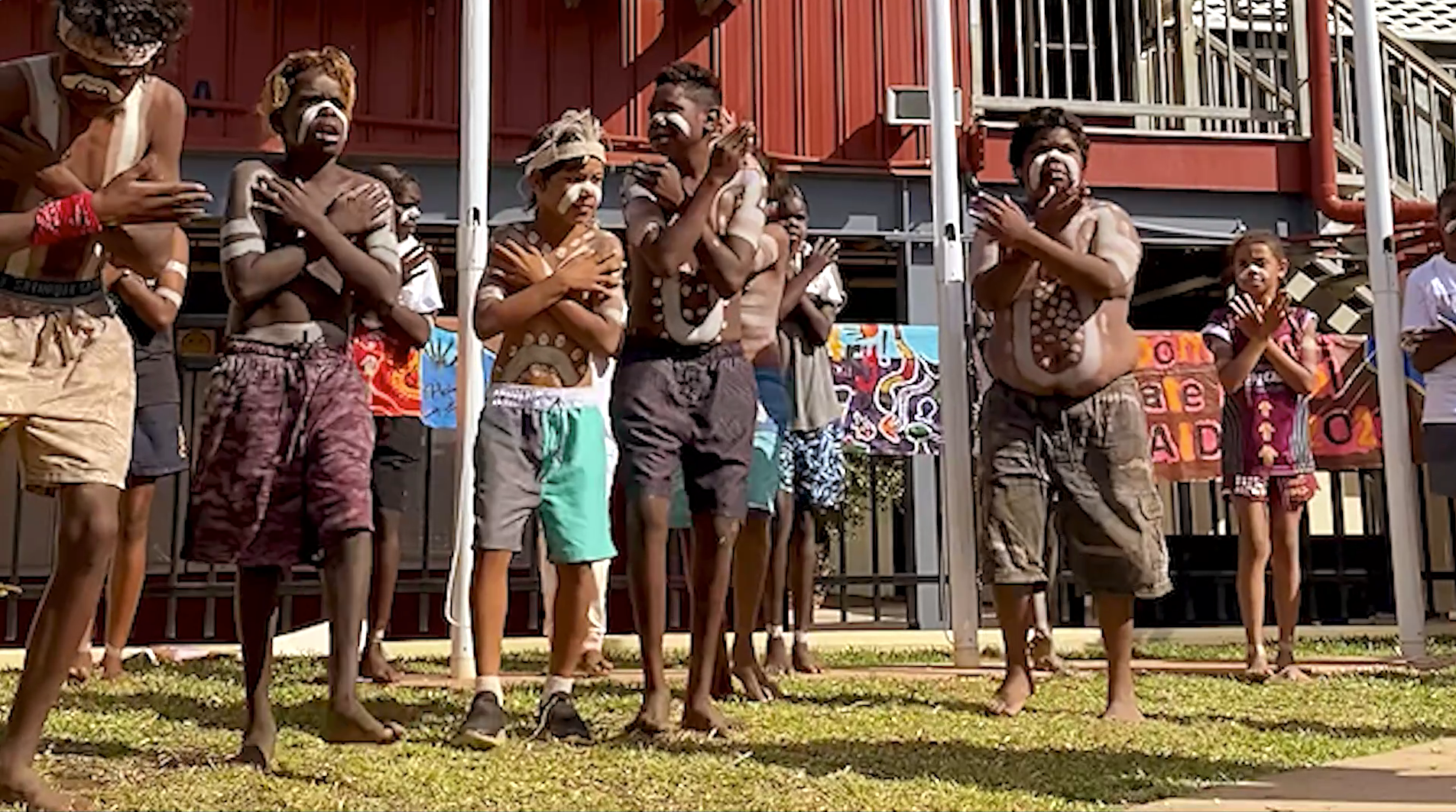 Doomadgee Kids Welcome to Country